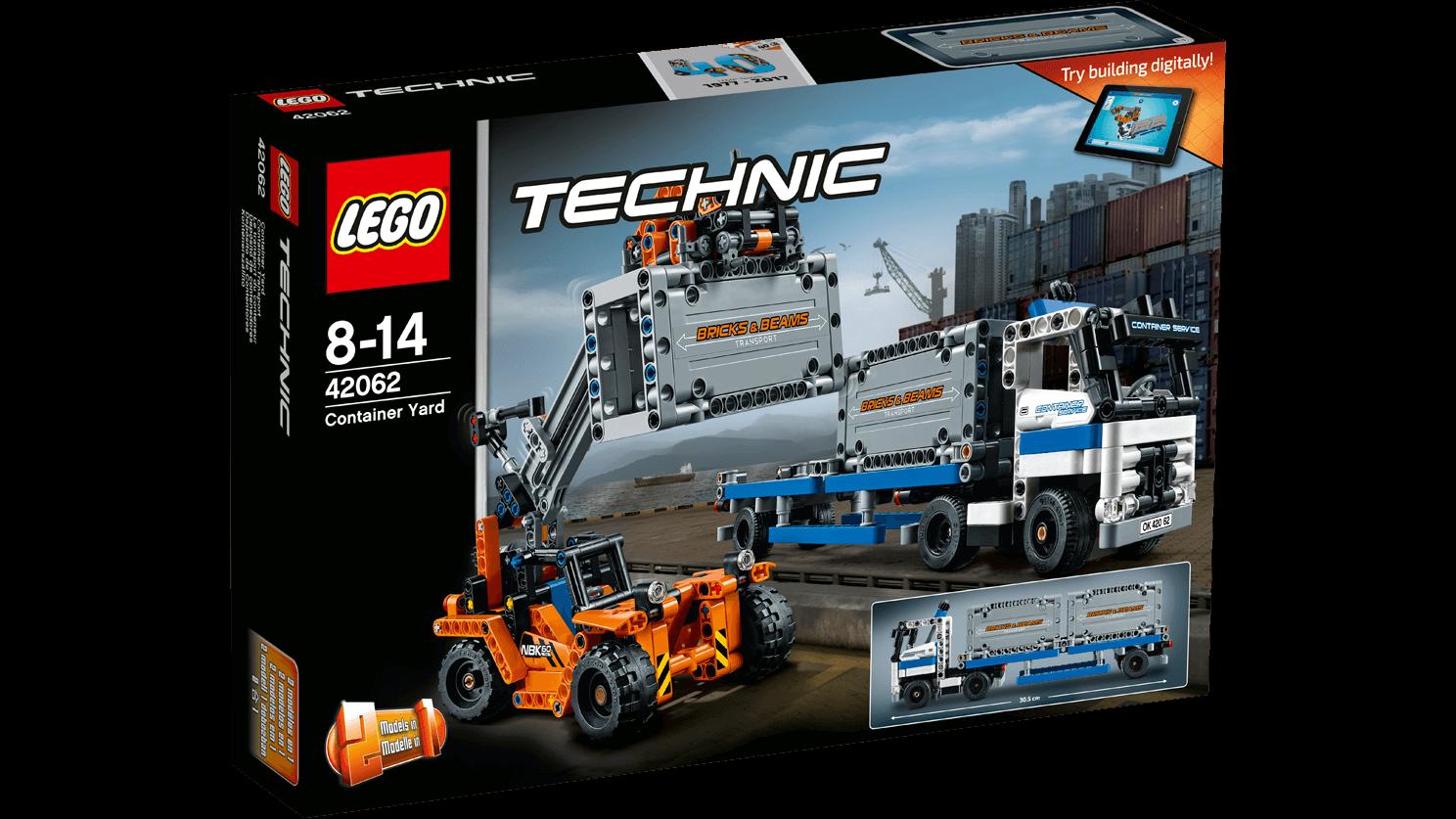 Lego Technic Container Yard 42062 East Coast Radio Online Shop