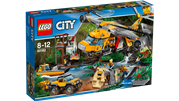 LEGO City Jungle Air Drop Helicopter - 60162