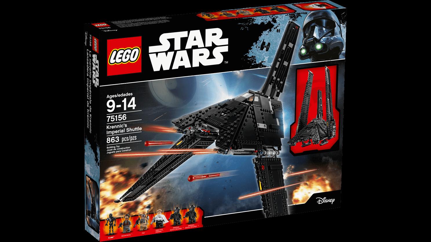 Lego Star Wars Krennics Imperial Shuttle 75156 East Coast Radio